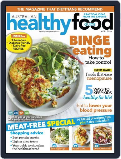 Healthy Food Guide (Digital) March 20th, 2016 Issue Cover