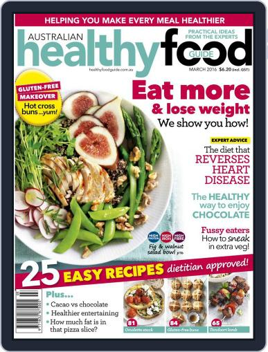Healthy Food Guide (Digital) February 21st, 2016 Issue Cover