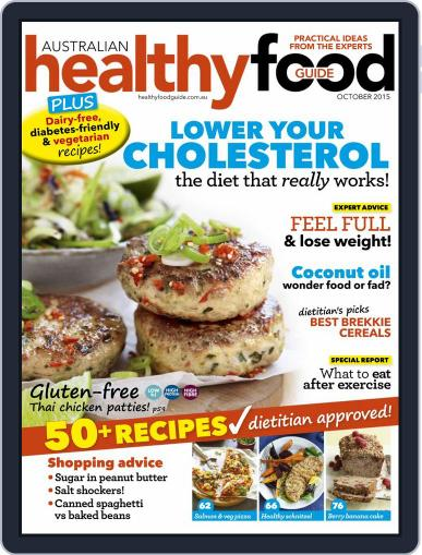 Healthy Food Guide (Digital) October 1st, 2015 Issue Cover