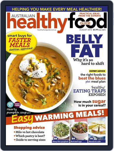 Healthy Food Guide (Digital) July 27th, 2015 Issue Cover