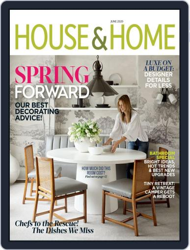 House & Home June 1st, 2020 Digital Back Issue Cover