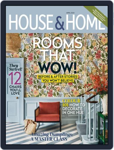 House & Home April 1st, 2020 Digital Back Issue Cover