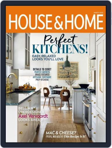House & Home March 1st, 2020 Digital Back Issue Cover