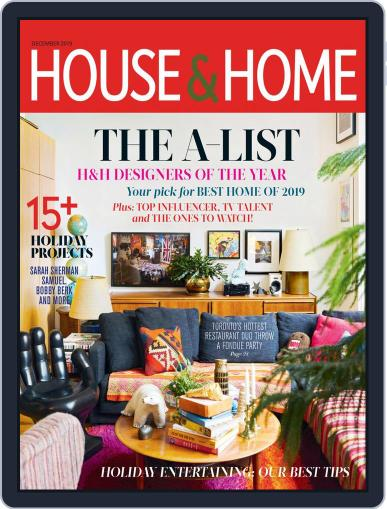 House & Home December 1st, 2019 Digital Back Issue Cover
