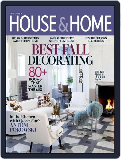 House & Home October 1st, 2019 Digital Back Issue Cover