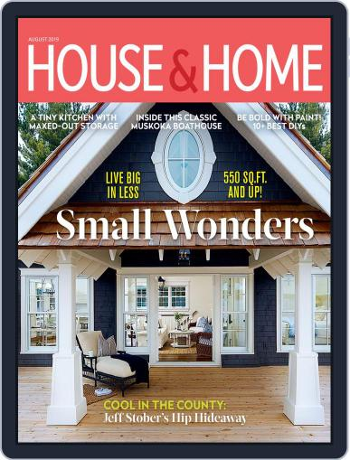 House & Home August 1st, 2019 Digital Back Issue Cover