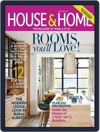 House & Home (Digital) February 1st, 2019 Issue Cover