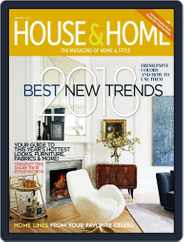 House & Home (Digital) Subscription January 1st, 2018 Issue