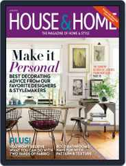 House & Home (Digital) Subscription April 30th, 2016 Issue