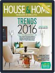 House & Home (Digital) Subscription December 12th, 2015 Issue