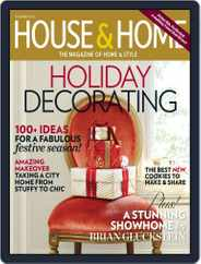 House & Home (Digital) Subscription October 5th, 2013 Issue