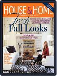 House & Home (Digital) Subscription September 1st, 2012 Issue