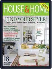 House & Home (Digital) Subscription June 30th, 2012 Issue