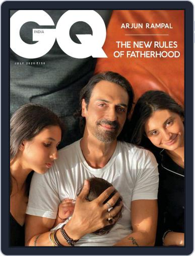 GQ India (Digital) July 1st, 2020 Issue Cover