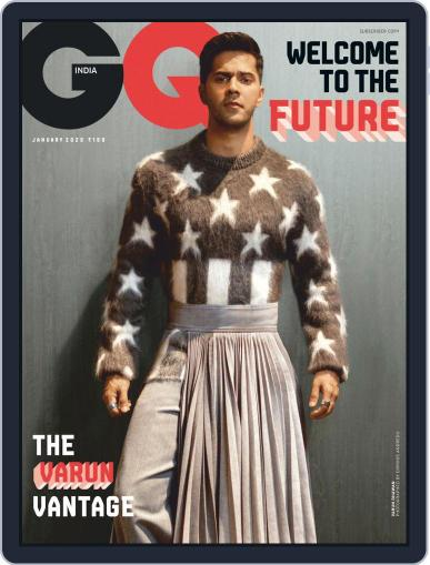 GQ India (Digital) January 1st, 2020 Issue Cover