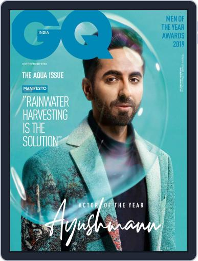 GQ India (Digital) October 1st, 2019 Issue Cover