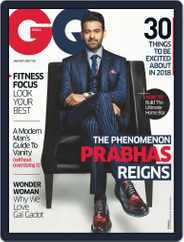 GQ India (Digital) Subscription January 1st, 2018 Issue