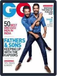 GQ India (Digital) Subscription June 1st, 2017 Issue