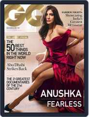GQ India (Digital) Subscription December 1st, 2016 Issue