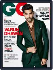 GQ India (Digital) Subscription September 1st, 2015 Issue