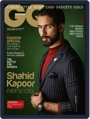 GQ India (Digital) Subscription September 4th, 2014 Issue