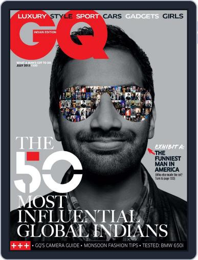 GQ India (Digital) July 1st, 2011 Issue Cover