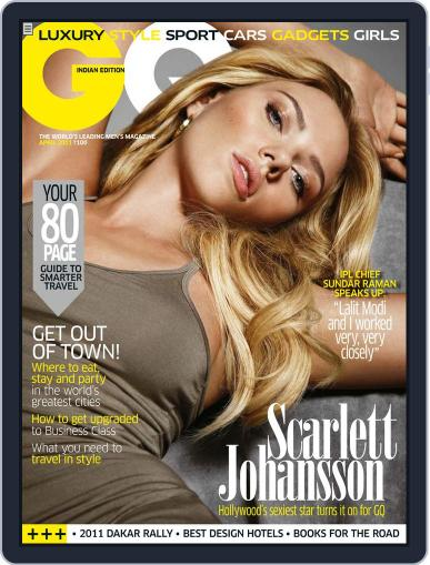GQ India (Digital) April 7th, 2011 Issue Cover