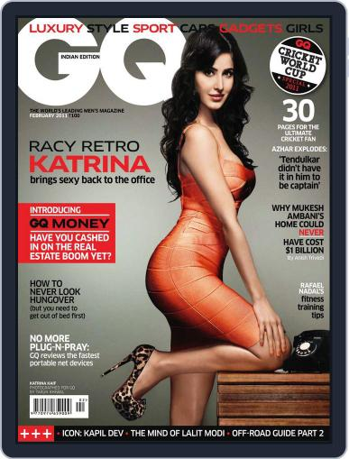 GQ India (Digital) February 1st, 2011 Issue Cover