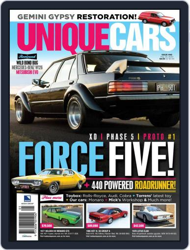 Unique Cars Australia (Digital) May 28th, 2020 Issue Cover