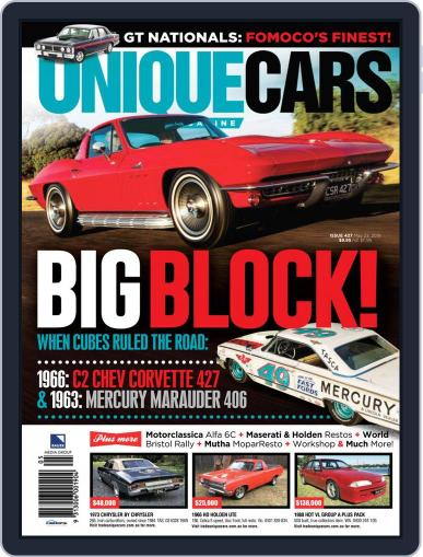 Unique Cars Australia (Digital) May 15th, 2019 Issue Cover