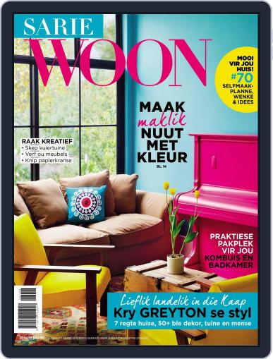 Sarie Woon Magazine (Digital) November 9th, 2015 Issue Cover