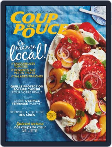 Coup De Pouce July 1st, 2020 Digital Back Issue Cover