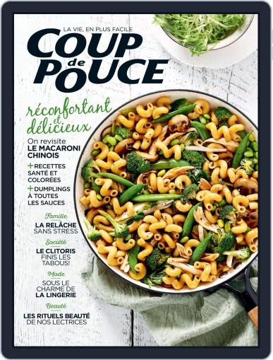 Coup De Pouce March 1st, 2020 Digital Back Issue Cover