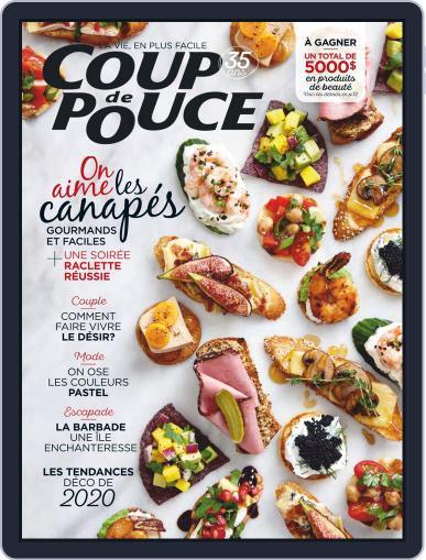 Coup De Pouce January 1st, 2020 Digital Back Issue Cover