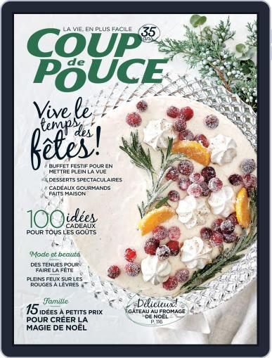 Coup De Pouce December 1st, 2019 Digital Back Issue Cover