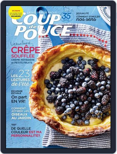 Coup De Pouce July 1st, 2019 Digital Back Issue Cover