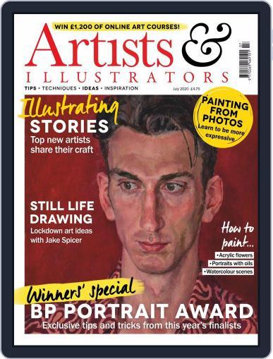 Artists & Illustrators (Digital) July 1st, 2020 Issue Cover