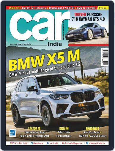 Car India April 1st, 2020 Digital Back Issue Cover