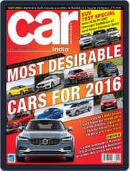 Car India (Digital) Subscription January 6th, 2016 Issue