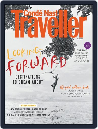 Conde Nast Traveller UK (Digital) May 1st, 2020 Issue Cover