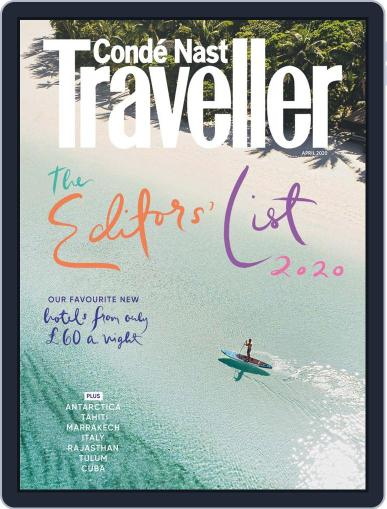 Conde Nast Traveller UK (Digital) April 1st, 2020 Issue Cover
