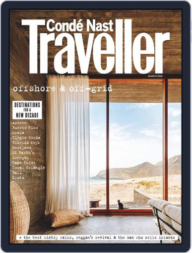 Conde Nast Traveller UK (Digital) March 1st, 2020 Issue Cover