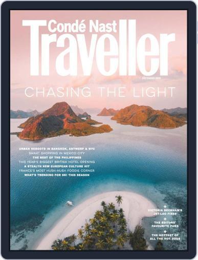 Conde Nast Traveller UK (Digital) December 1st, 2019 Issue Cover
