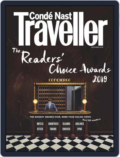 Conde Nast Traveller UK (Digital) November 1st, 2019 Issue Cover