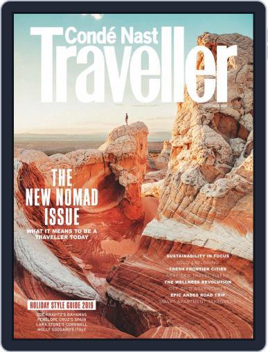 Conde Nast Traveller UK (Digital) October 1st, 2019 Issue Cover