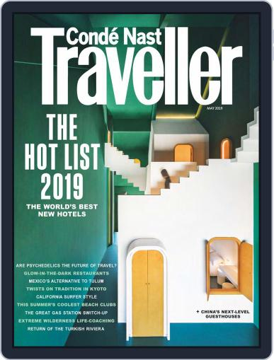 Conde Nast Traveller UK (Digital) May 1st, 2019 Issue Cover
