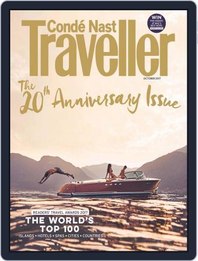 Conde Nast Traveller UK (Digital) October 1st, 2017 Issue Cover