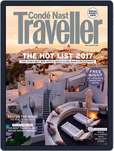 Conde Nast Traveller UK (Digital) July 1st, 2017 Issue Cover