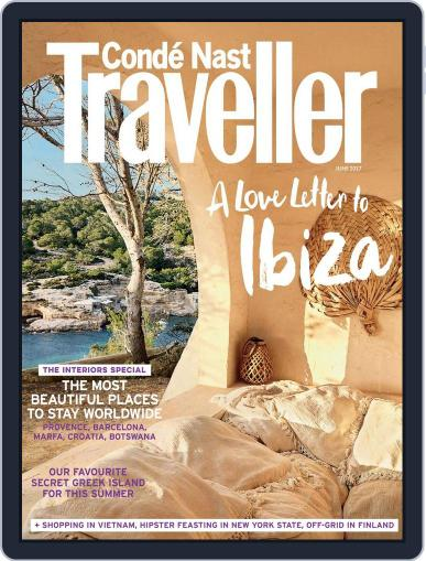 Conde Nast Traveller UK (Digital) June 1st, 2017 Issue Cover