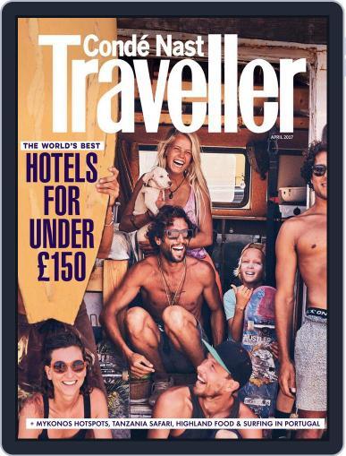 Conde Nast Traveller UK (Digital) April 1st, 2017 Issue Cover